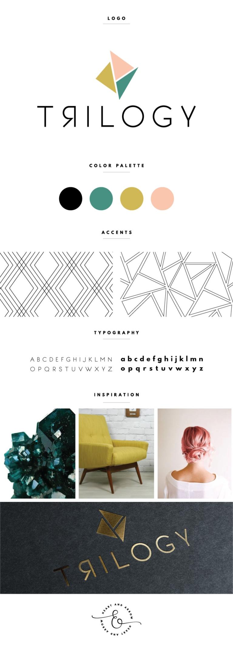 Tendencias de branding en 2021: patrones geométricos