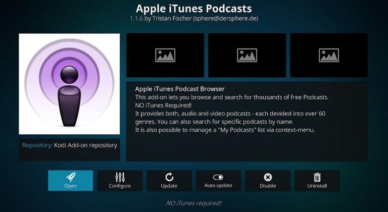 Plataforma Apple Podcasts