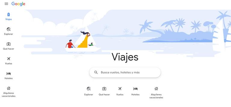 Google Travel: ¿Cómo funciona exactamente?