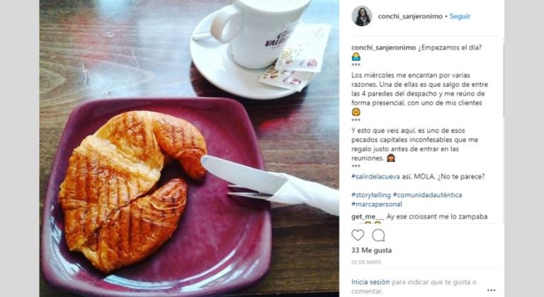 Contar historias en Instagram