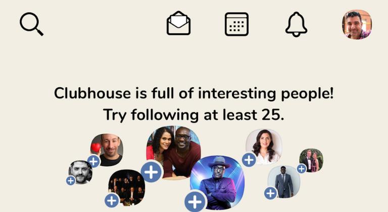 Clubhouse: salas de audio chat