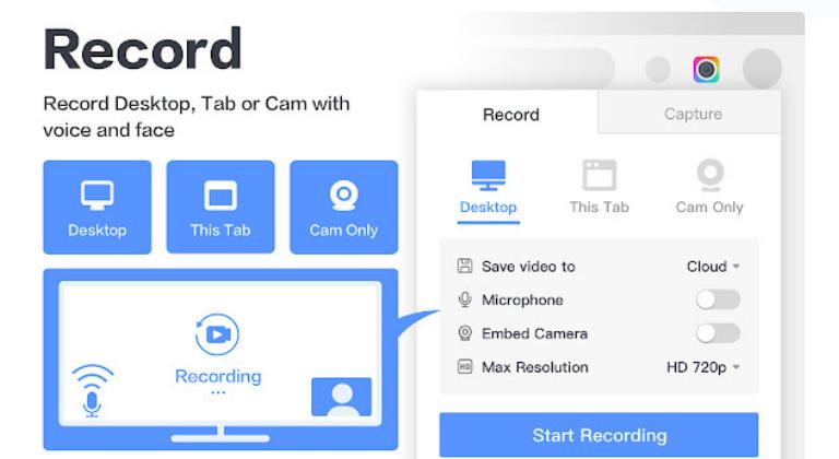 Extensiones de Chrome para marketing digital: Awesome Screenshot