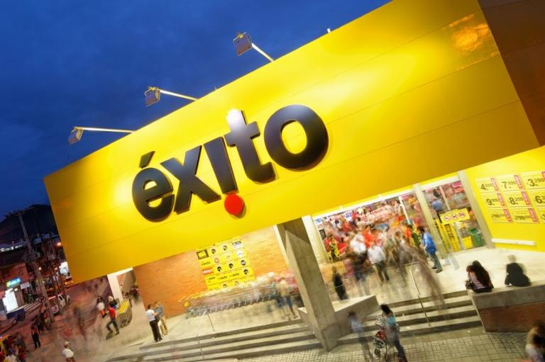 Ejemplo de comunidad de marca de Colombia, Éxito.