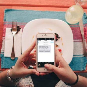 SMS marketing para el sector restauración