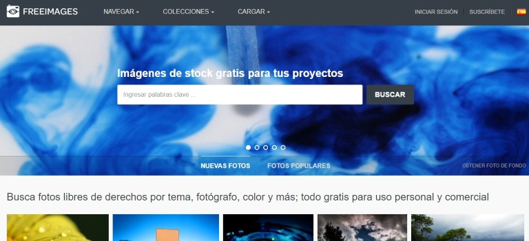 Freeimages, banco de imágenes gratuito