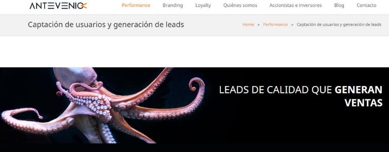 Apóyate en herramientas para lead generation