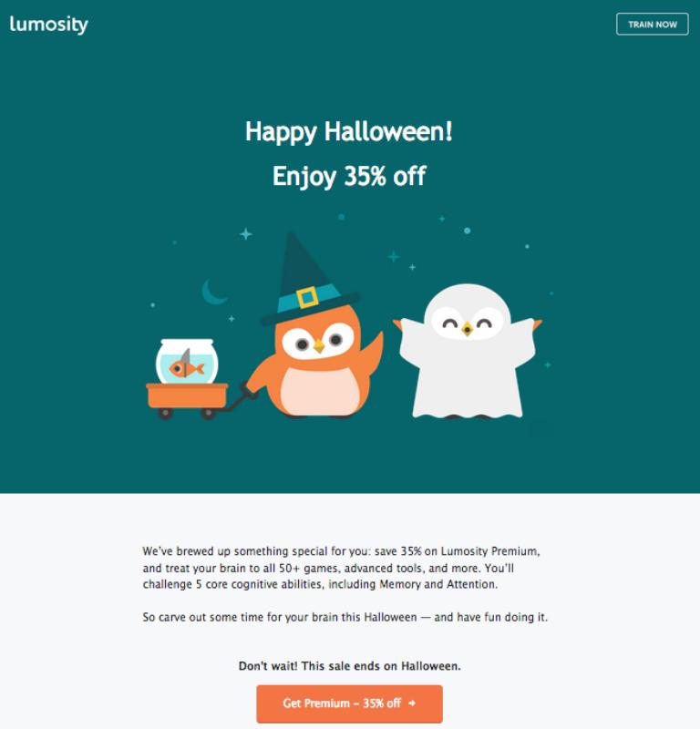 Envía campañas de email marketing en este Halloween