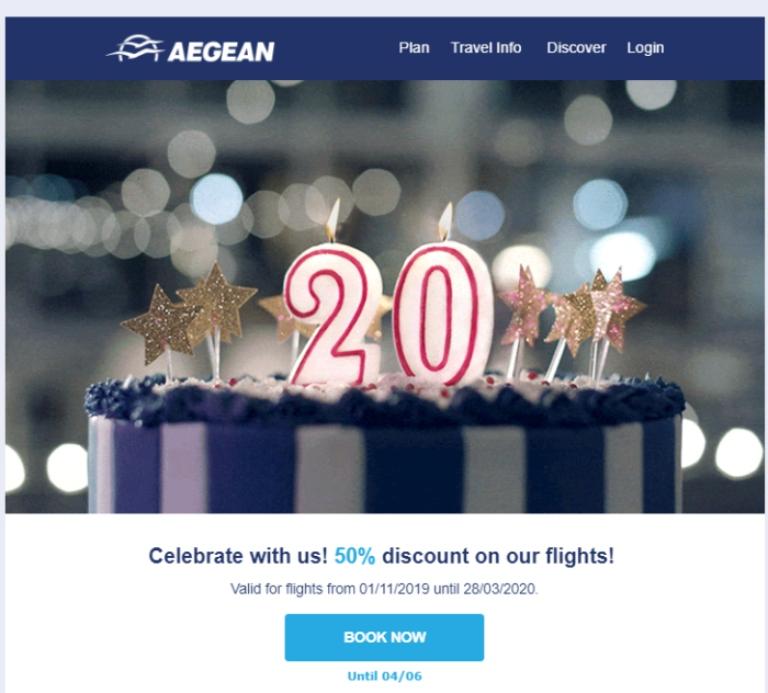 Aegean: campañas de marketing más exitosas