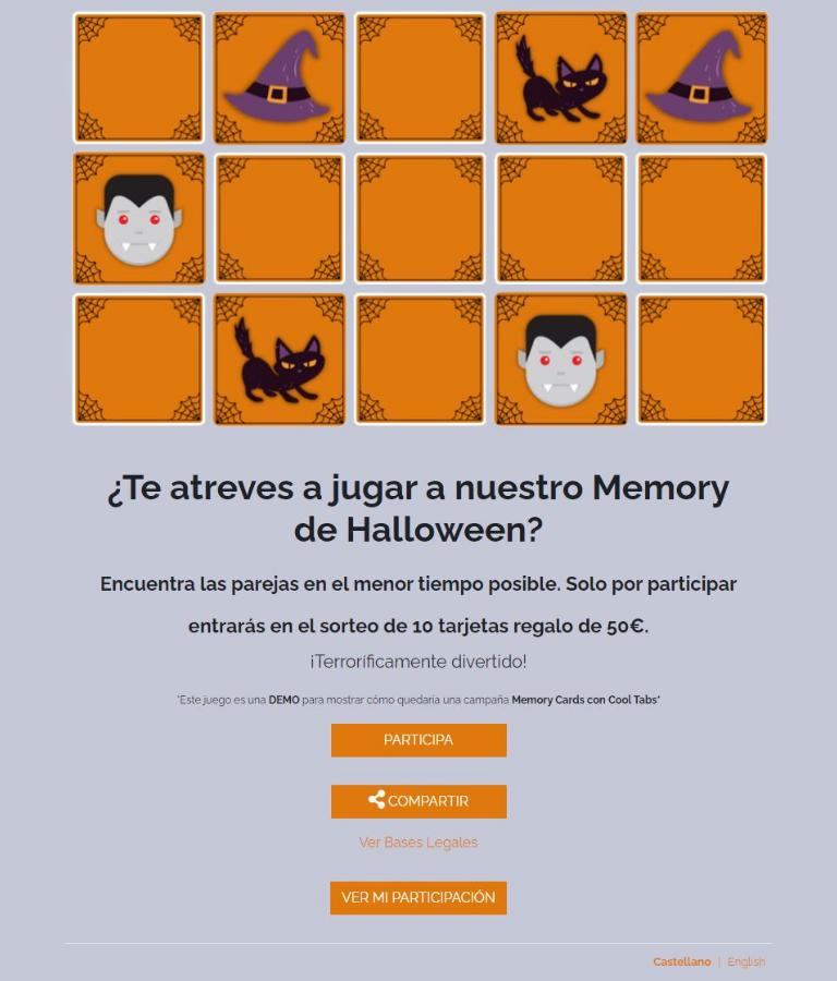 Acciones de marketing online para Halloween: gamificación