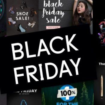 Ejemplos de Social Ads para este Black Friday