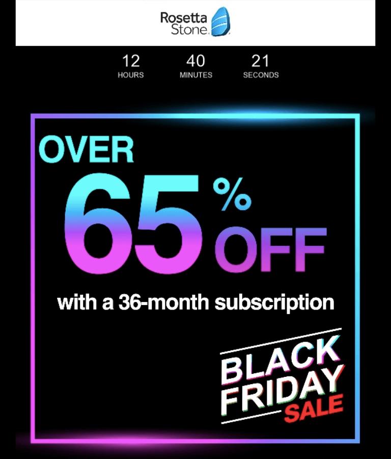 Crea una campaña de email marketing para el Black Friday